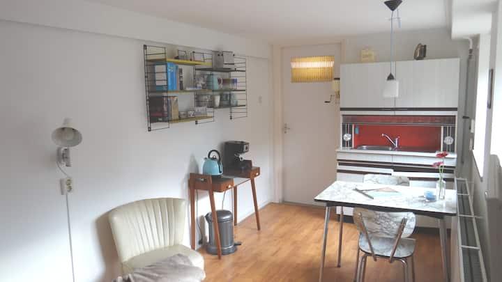 Suite in centrum met eigen ingang en parking