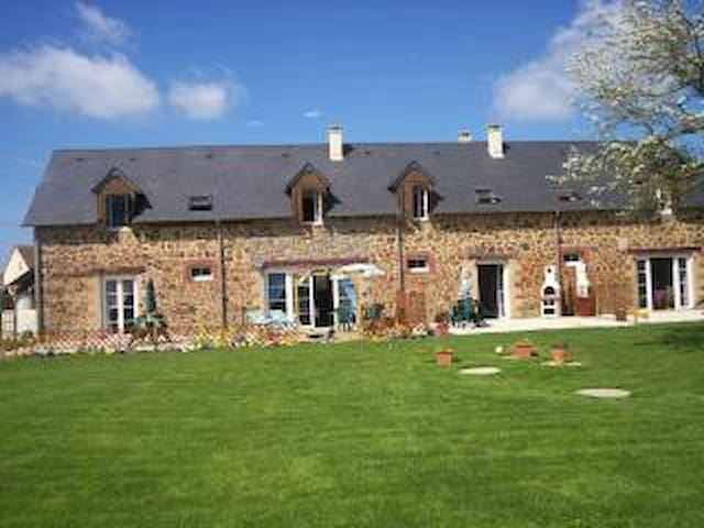 Strawberry  holiday cottages   Nr Domfront - Saint-Denis-de-Villenette - Haus