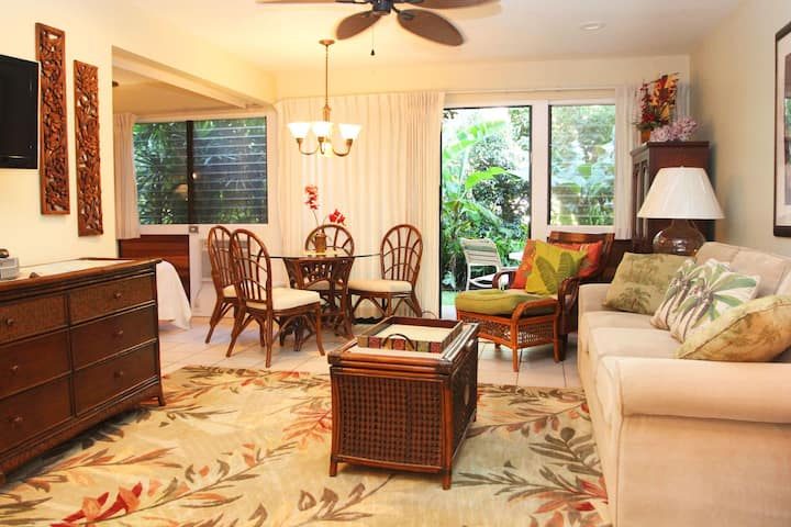 HK-A15 - Garden View Maui Condo in a Quiet Beachfront Resort - Ma'alaea Bay