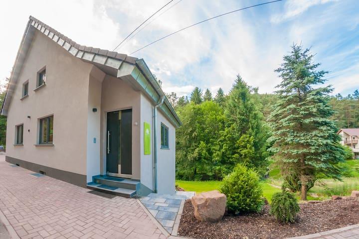 Ferienhaus zur Alleinnutzung mit Kamin und  Sauna