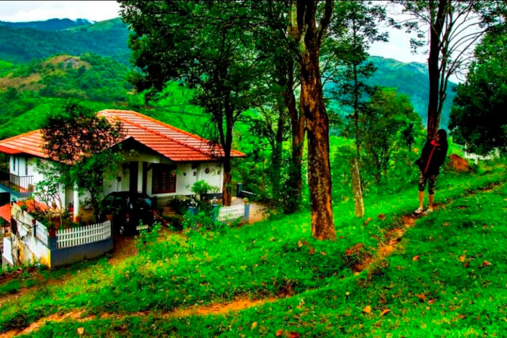 best of amenities & home-like services, beside the Magnificent Peak at Chembra