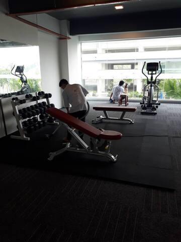 Spacious Fitness Centre