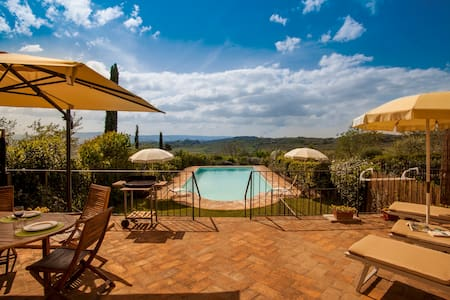 Holiday home near San Gimignano - Poggibonsi - 公寓
