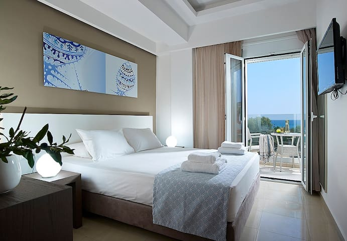 Apartment with two bedrooms and sea view - Ierapetra - Huoneisto