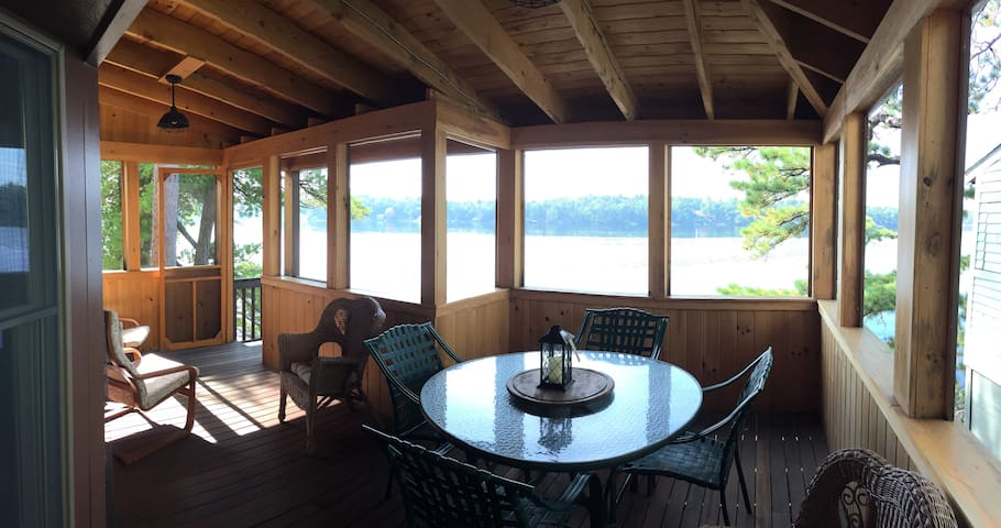 Wrap Around Deck Facing The Water