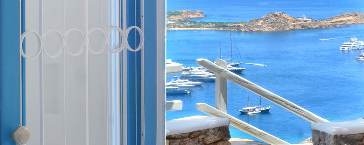 Luxurius VillaThelgoMykonos  I, amazing  sea View!