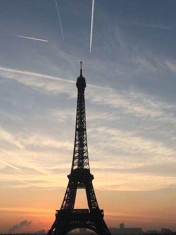 Trocadero point of view