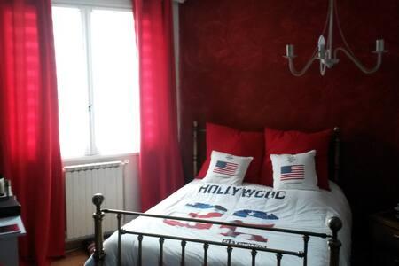 Chambre double 15m² - Étival-lès-le-Mans - Bed & Breakfast