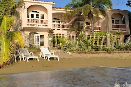 LUXURY BEACHFRONT VILLA-DIRECTLY ON CORCEGA BEACH - Rincón