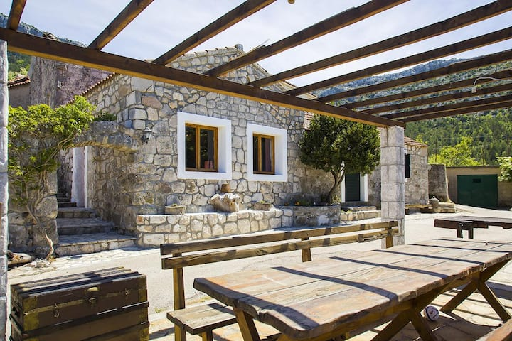 One bedroom house with terrace and sea view Tomislavovac, Pelješac (K-13280)