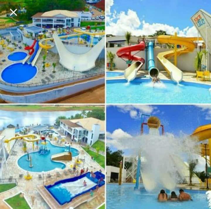 Resort do lago( 8 pessoas)