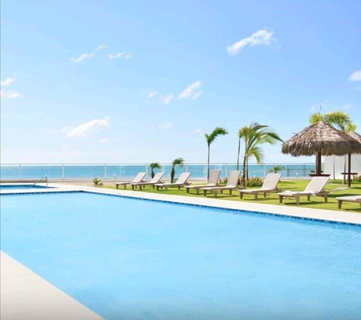 Playa, comodidad y vista inmejorable