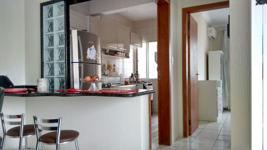 Have a nice stay in this apartment - São José