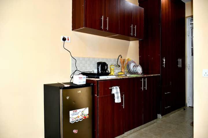 A cozy studio apartment in Ruaka Nairobi