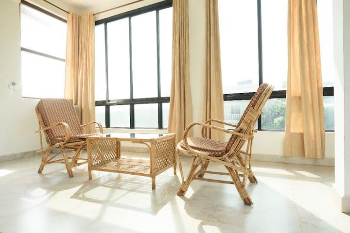 Standard studio apartment near Ashwem beach