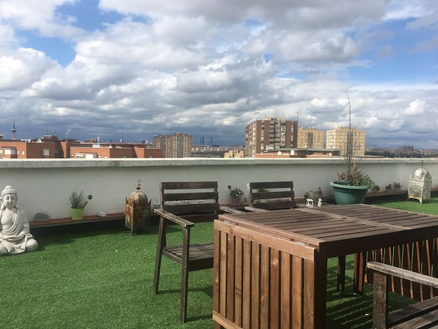 Atico con vistas increíbles - Madrid - Appartement