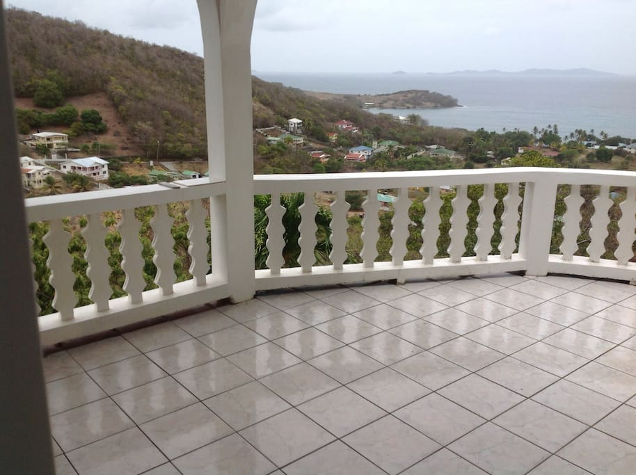 Amazing views of Friendship Bay and the island of Mustique.