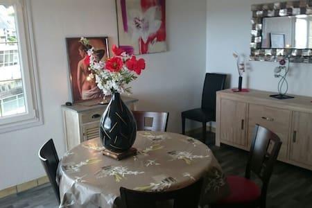 Appartement LES JETÉES, vue mer. - Port-en-Bessin-Huppain - Flat