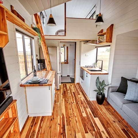 Luxury Riverside Tiny House