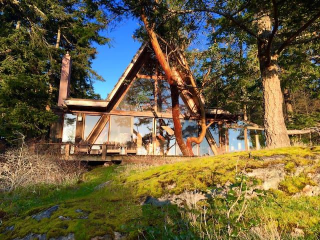 Classic Lopez Island Cabin - Ilha Lopez - Casa