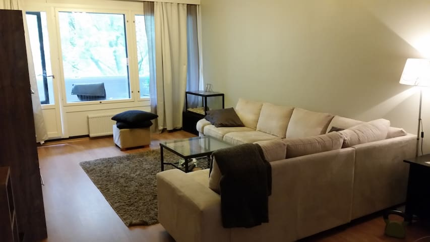 Comfortable 3 rooms apartment, exellent location - Vantaa - Apartemen