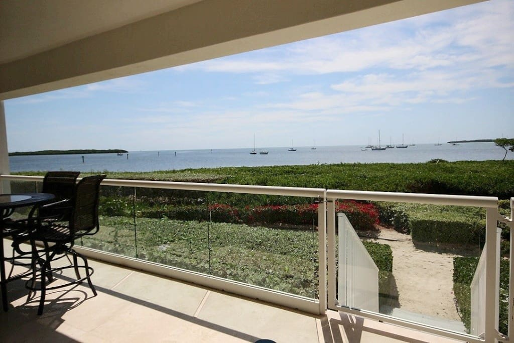 Endless oceanview from your private patio