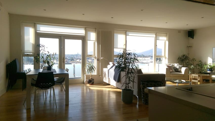 Penthouse in Bray with a view