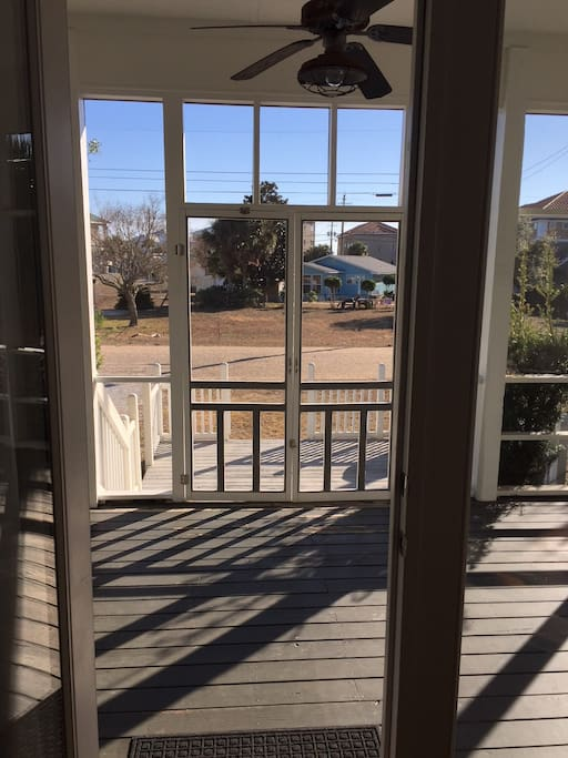 Rocking Chair/screened front porch