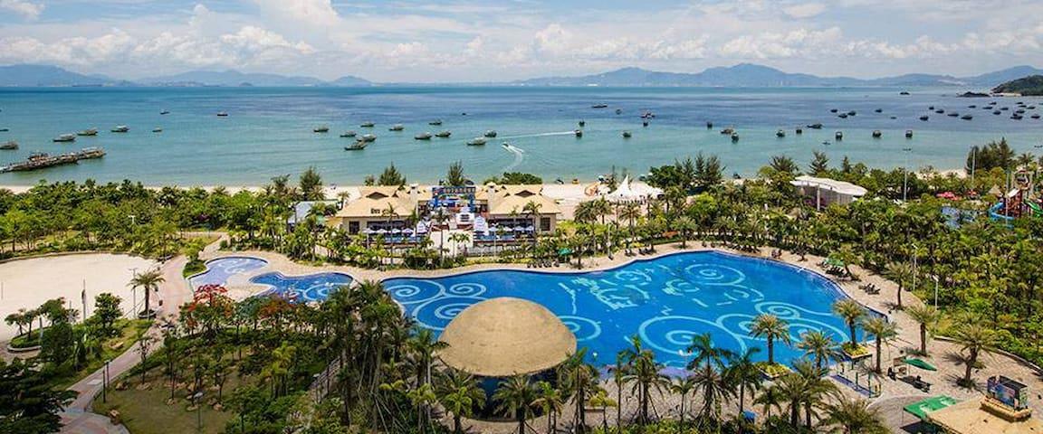 巽寮湾海公园乐享全视觉正面一线海景房