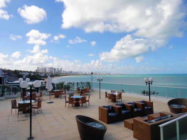 Flat Beira-mar CABO BRANCO - 若昂佩索阿 - 公寓