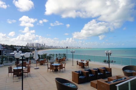 Flat Beira-mar CABO BRANCO - João Pessoa - Apartament