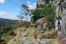 Path below froggatt edge