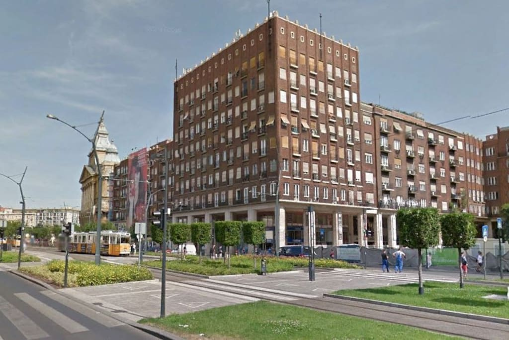 Our apartment is in a landmark building right at the city center near Deak ter. At transportation hub where 3 metro lines cross each others, several bus, tramp.  All attractions are within walking distance. The surrounding is full of restaurants, shopping and entertainment facilities