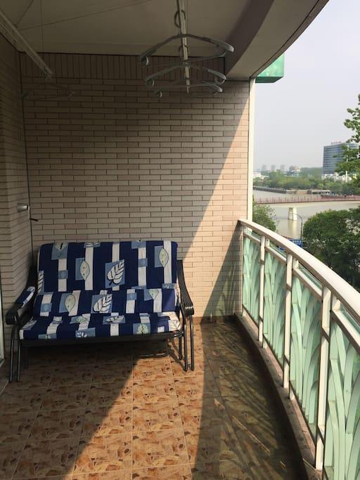 能看到京杭大运河的阳台