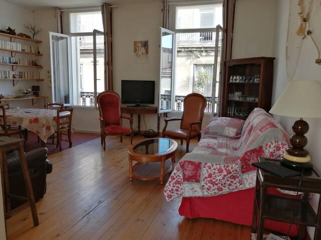 Vivez au Coeur de Sète (75 m2)