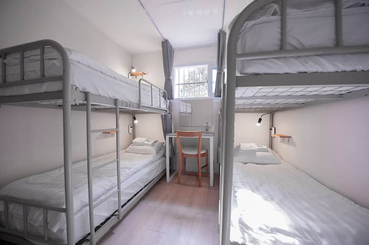 ☆G Guesthouse 4-Bed Mix Dorm w/ Breakfast☆