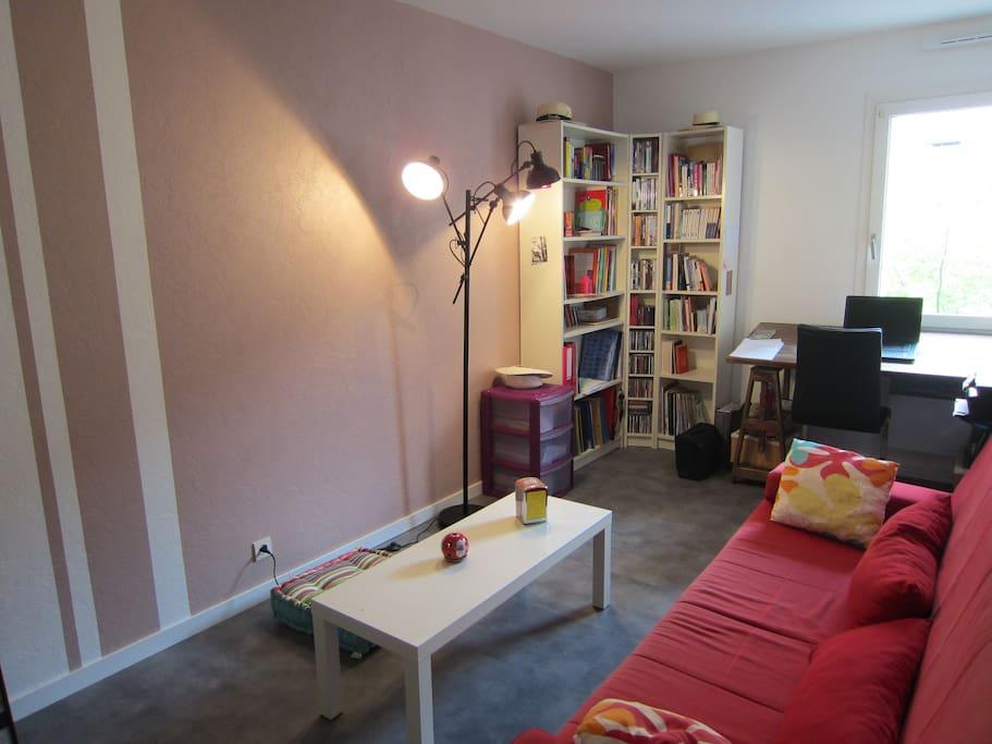 La chambre 2 (le clic-clac se déplie et est très confortable)