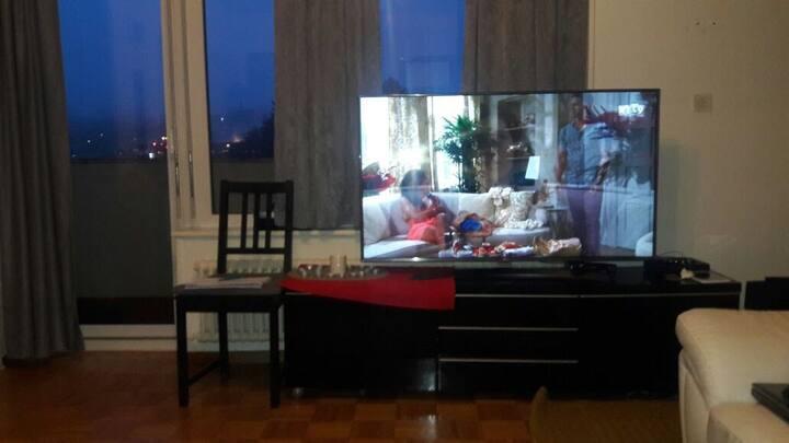 Appartement sous-locat meuble Lave linge internet