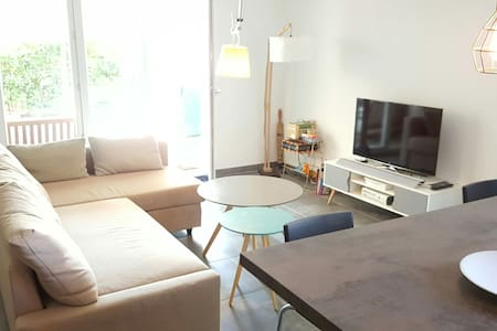 T2 Cosy Garden 150SQM Sunny Residential district - St-Laurent-du-Var