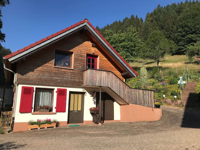 2-room Heidi-house surrounded by woods and meadows