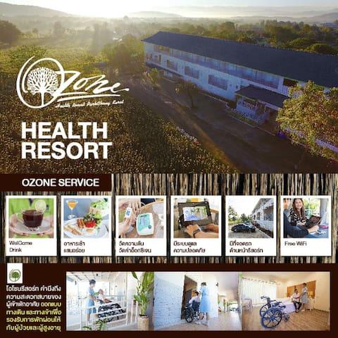 Ozone health resort