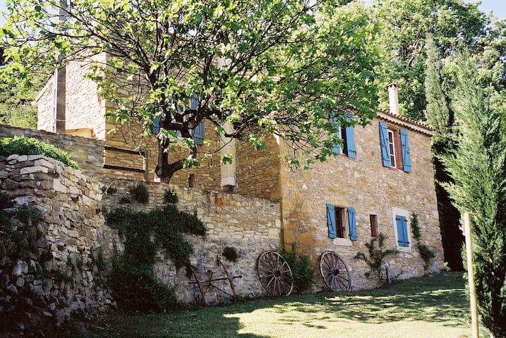 Idyllic stone house on two floors, beautiful views