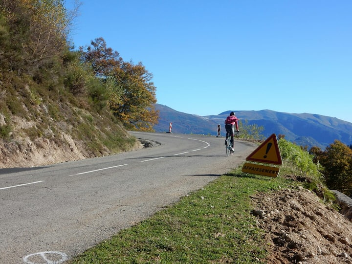 End of a big climb