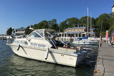 Unique boat living experience at Naantali city