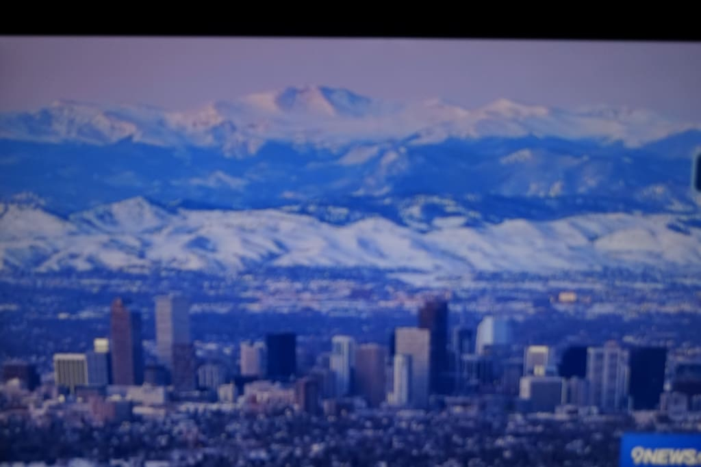 Colorado Downtown skyline with our beautiful mountains in the back ground