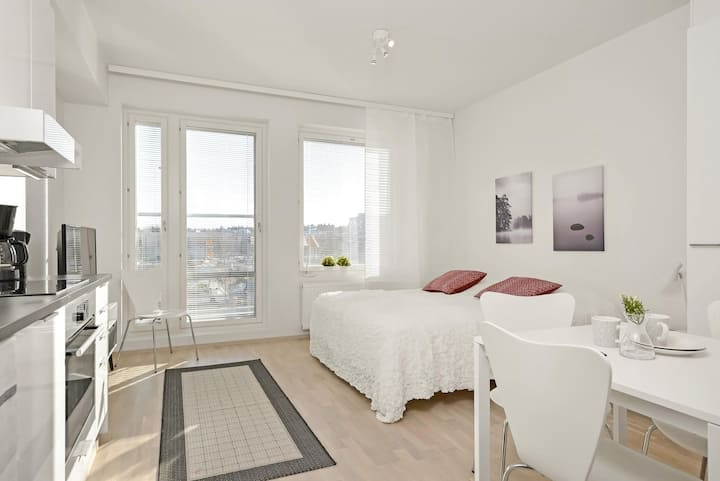 Studio huoneisto Espoon Leppävaarassa