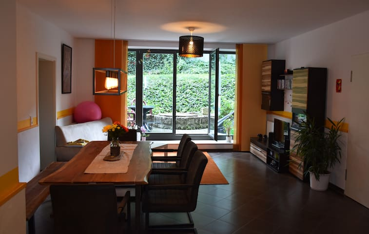 Two-rooms-apartment at Dresden central station