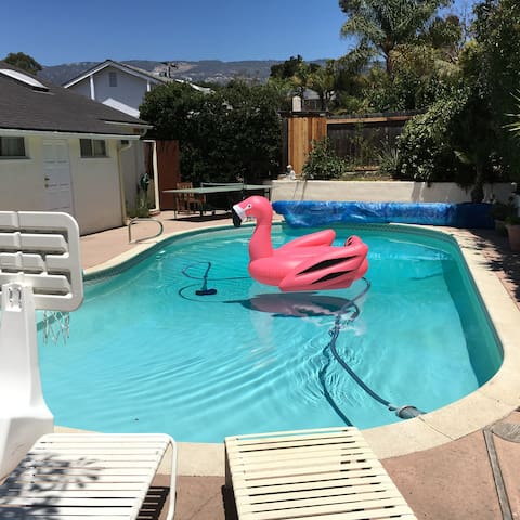 JULY 4 AVAILABLE! Huge 4BR 2BA, pool, spa, beaches - Goleta - Casa