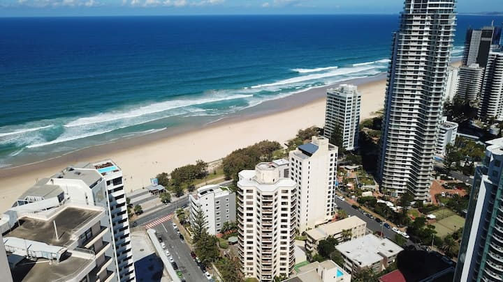 Surfers Paradise 1 Bedroom Apartment w/City View B