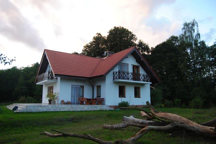 Mazury, Mazury Zachodnie, dom Bigajówka - Małdyty